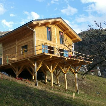 Hillside Deck Footing Solutions: Helical Piles on a Slope