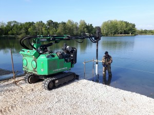 A one of a kind suburban project executed with screw piles in the region of Bordeaux